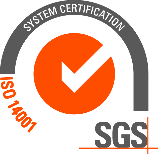 ISO 14001 certificación since1999, with the register number ES 15/17620