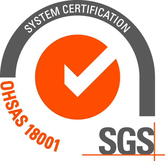 OHSAS 18001 certification since 2015, with the registration number ES 15/17837